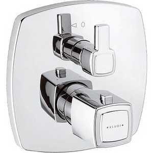 Термостат для ванны Kludi Q-beo для 88066 (508250542) 428210577 смеситель для кухни хром kludi
