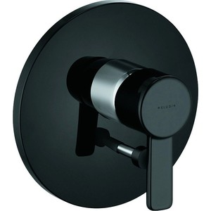 Смеситель для ванны Kludi черный (386508675) смеситель для душа коллекция push 388120538 нажимной хром kludi клуди