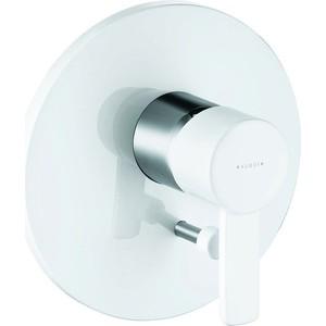 Смеситель для ванны Kludi Zenta белый (386509175) смеситель для ванны kludi черный 386508675