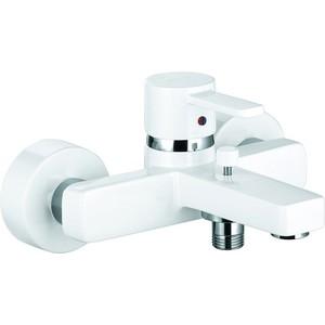 Смеситель для ванны Kludi Zenta белый (386709175) смеситель для душа коллекция push 388120538 нажимной хром kludi клуди