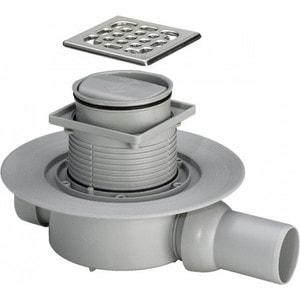 Душевой трап Viega 4936.2 с сухим отводом горизонтальный отвод (583248) viega 4936 3 с сухим отводом вертиткальный отвод 583224