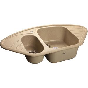 Мойка кухонная GranFest гранит угловая 960x510 (Gf-C960E песок) granfest 1024 302 песок