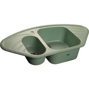 Мойка кухонная GranFest гранит угловая 960x510 (Gf-C960E салатовая) 510 x 510 x 450mah e 5colors 510x