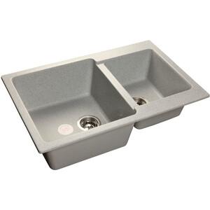 Мойка кухонная GranFest гранит 780x510 (Gf-P780K серая) цена