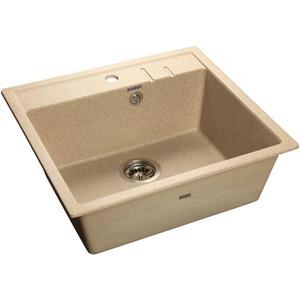Мойка кухонная GranFest гранит 565x510 (Gf-Q560 песок) мойка кухонная granfest гранит 565x510 gf q560 терракот
