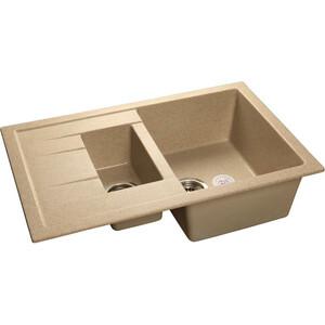 Мойка кухонная GranFest гранит 770x495 (Gf-Q775KL песок) цены
