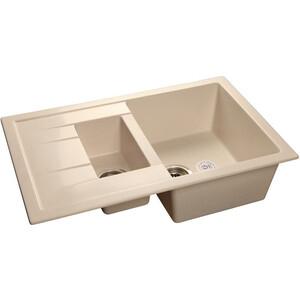 Мойка кухонная GranFest гранит 770x495 (Gf-Q775KL белая) стоимость