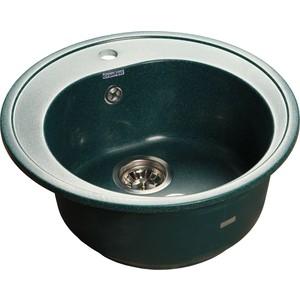 Мойка кухонная GranFest гранит D510 (Gf-R510 зеленая) gf go7400 b