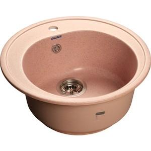 Купить мойка кухонная GranFest гранит D510 (Gf-R510 светло-розовая) (99430) в Москве, в Спб и в России