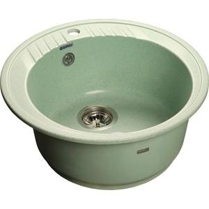 Мойка кухонная GranFest гранит D520 (Gf-R520 салатовая) мойка кухонная granfest гранит d520 gf r520 терракот