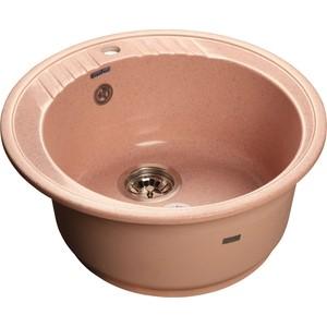 Купить мойка кухонная GranFest гранит D520 (Gf-R520 светло-розовая) (99447) в Москве, в Спб и в России
