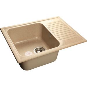 Мойка кухонная GranFest гранит 645x500 (Gf-S645L песок) цена