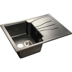 Мойка кухонная GranFest гранит 680x500 (Gf-S680L черная) granfest r580l terracotta