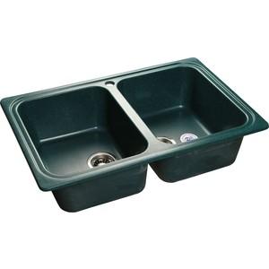 Купить мойка кухонная GranFest гранит 780x510 (Gf-S780K зеленая) (99477) в Москве, в Спб и в России