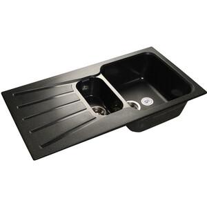 Мойка кухонная GranFest гранит 940x495 (Gf-S940KL черная) granfest смесительgranfest gf 1024 328 для кухонной мойки