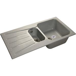 Мойка кухонная GranFest гранит 940x495 (Gf-S940KL серая) цена