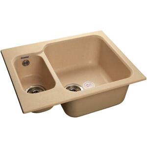 Мойка кухонная GranFest гранит 615x500 (Gf-S615K бежевая) стоимость