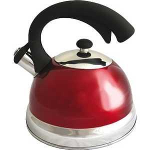 Чайник TimA 2.5 л красный K-23 нержавеющая сталь листовая 0 4 мм екатеринбург