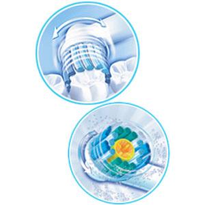 Аксессуар Braun насадки Pro-White 2 шт (EB 18-2) аксессуар braun насадка для зубных щеток oral b trizone 2 шт eb 30 2