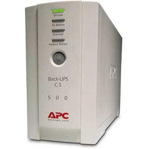 ИБП APC Back-UPS CS 500VA/300W (BK500EI) брелок 500 dhl ups